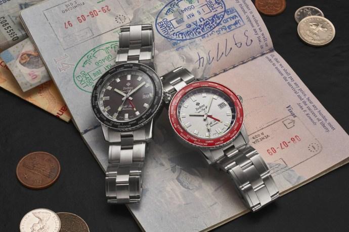 Zodiac Super Sea Wolf World Time Limited Edition