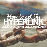 Hyperlink: 3 Ways of How to Extract the Link from an Excel Cell