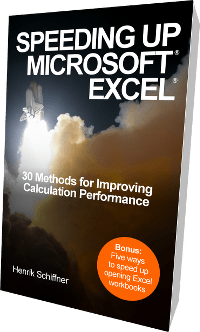 performance, book, increase, speed, excel
