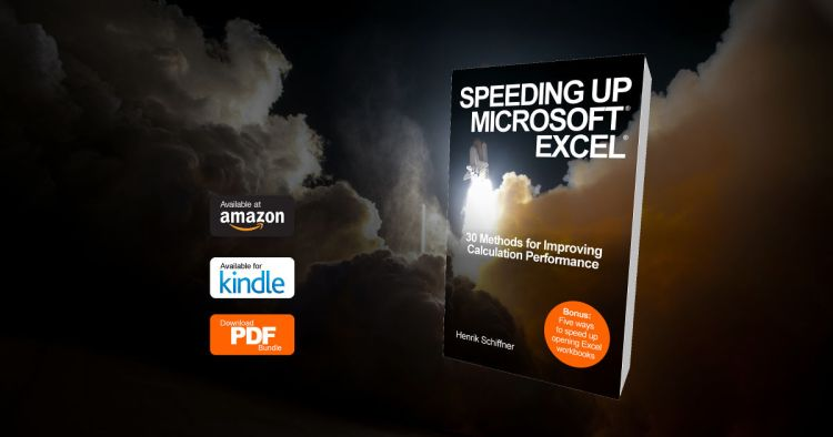 microsoft, excel, speed, speeding, faster, calculate, calculation