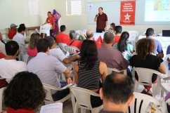 Encontro Regional do PT-MT, em Alta Floresta. Foto: Carlos Maranhão