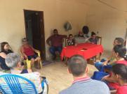 Reunião com a militância do PT em Jangada