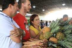 Visita à feira de Alta Floresta