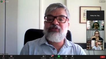 Representante do FNPE, Luiz Dourado