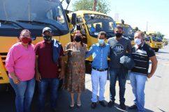 Comitiva de Alto Paraguai, liderada pelo prefeito Adair Moreira (MDB)
