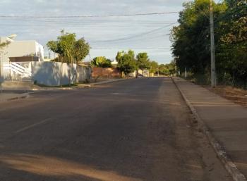 Foto: Prefeitura de Campo Verde. Evolução da obra