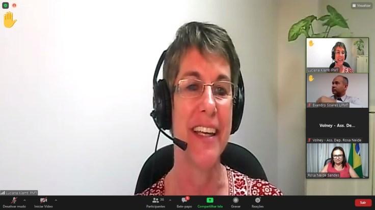 Luciana Klamt do IFMT