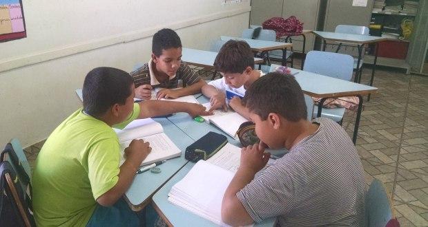 Ugo, Gabriel, Igor e Rian