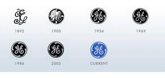 General-Electric-Brand-Evolution