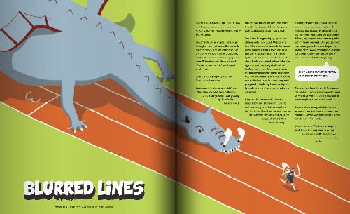 "Like the Wind Magazine 06 - ""Blurred Lines"""