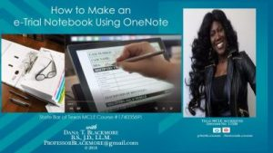 (COURSE ONLY): How to Make a OneNote e-Trial Notebook
