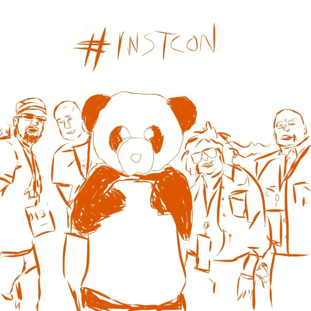 Instcon Canvas Instructure Sketch with Friends and Panda