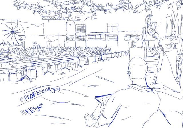 FLBlogCon Sketch Analog Artist