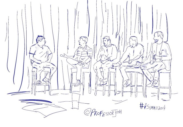 iSummit 2014 Panel Sketch