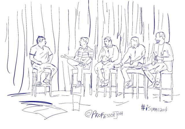iSummit 2014 Panel Sketch