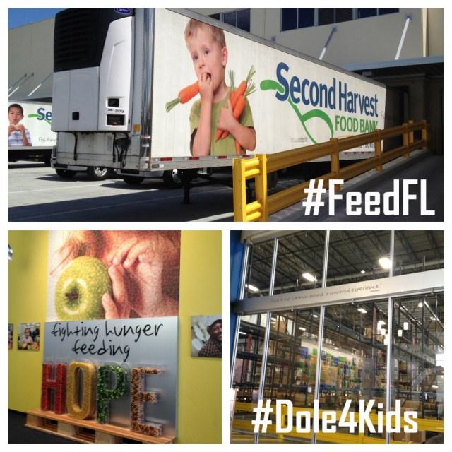 FeedFL Dole4Kids Second Harvest Food Bank #shop