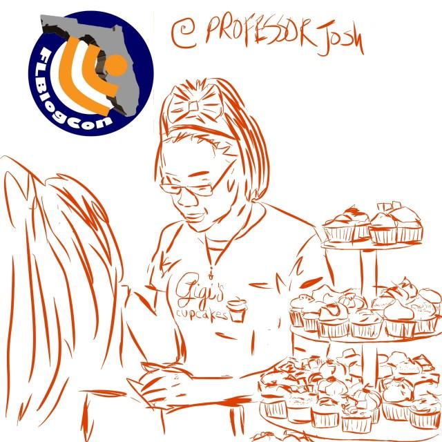 GiGi's Cupcakes at FLBlogCon13