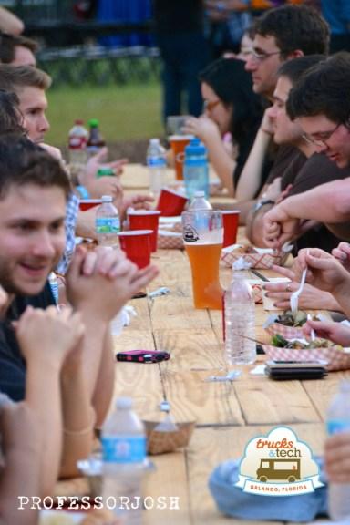 Trucktoberfest Food Tables