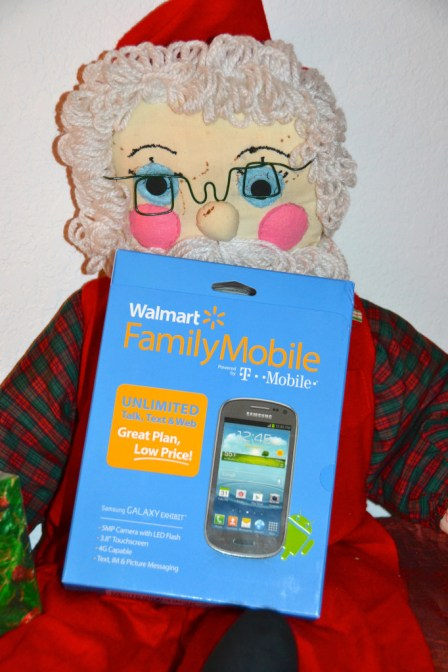Santa Approved of Walmart Family Mobile #FamilyMobileSaves #cbias #shop