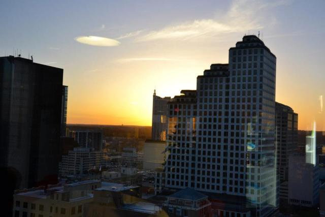 Sun Setting in Austin Texas Why not win a trip with .Me Rewards