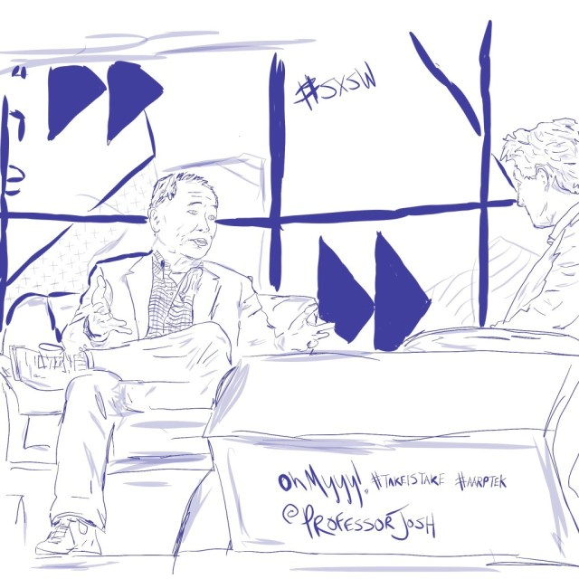 Sketch by Sketch SXSW Interactive George Takei Conversation with Matthew Segal