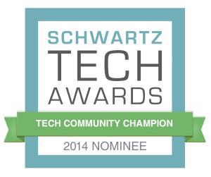 Schwartz-TechCommChampion-nominee-badge Orlando Tech Week
