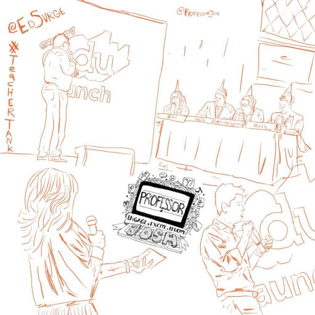 TeacherTank by EdSurge Sketch at SXSWedu