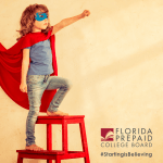 superhero Florida Prepaid College Plan