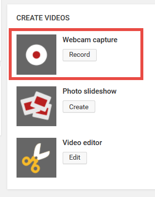 YouTube Webcam Capture Feature Is Retiring January 16 2016
