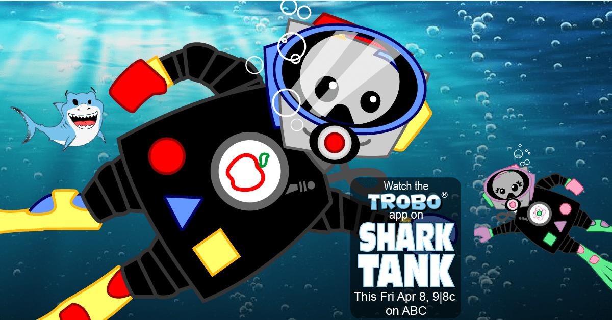 TROBO Hits Shark Tank this Friday, April 8th