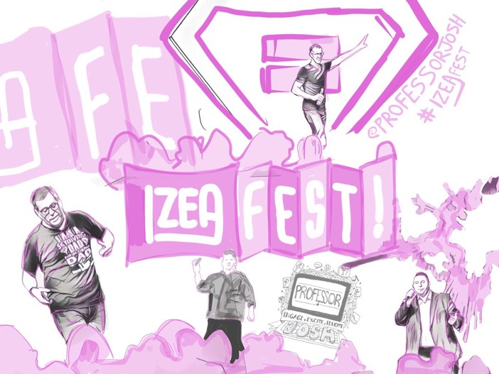 IZEAFEST 2017 Captured Through Sketches