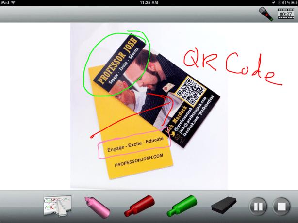 ScreenChomp iPad App
