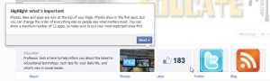 Facebook Timeline Pages Tabs Updates