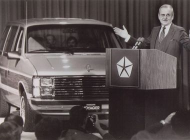 Lee Iaccocca minivan pitch