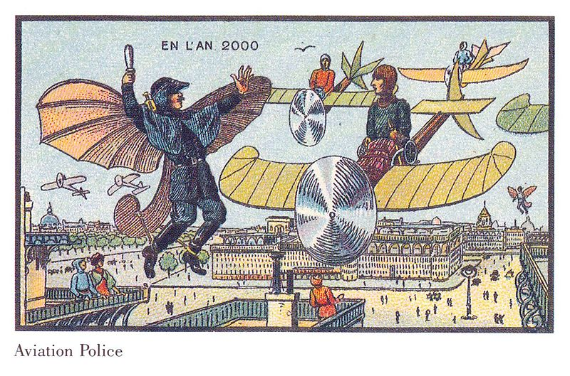 Flying Police in France