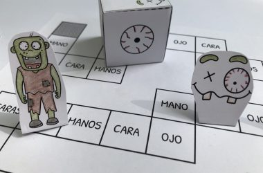 Spanish Zombie Preschool Pack