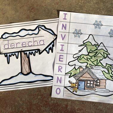 Free Winter PK-1 Spanish Activities Pack