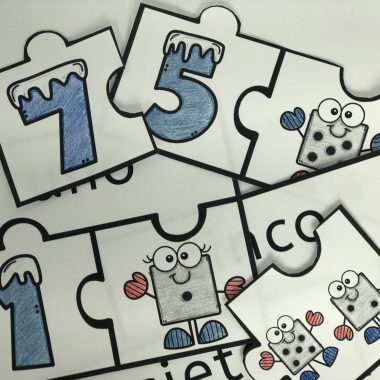 Example of Spanish Numbers Puzzles