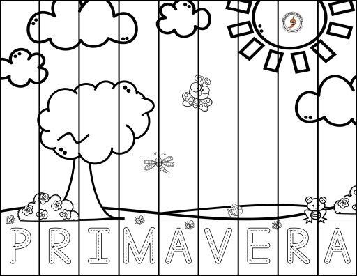 The focus of this Spanish activities pack is Spring or primavera, which this puzzle spells out for practice