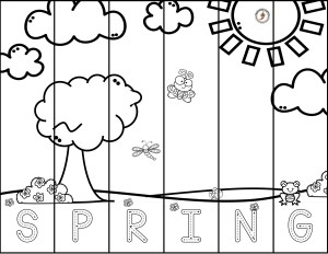 Puzzle from Free Spring Learning Pack