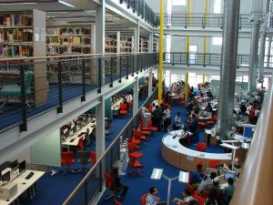 Use of Colour, Library & Learning Centre, UEL