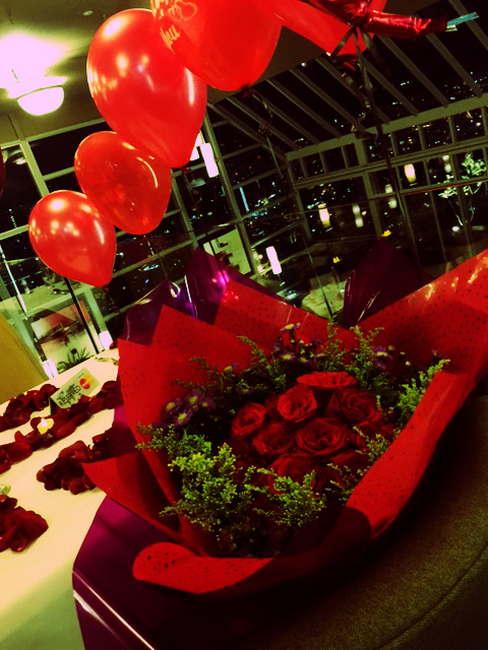 Hadiah Jambangan Bunga Surprise Delivery