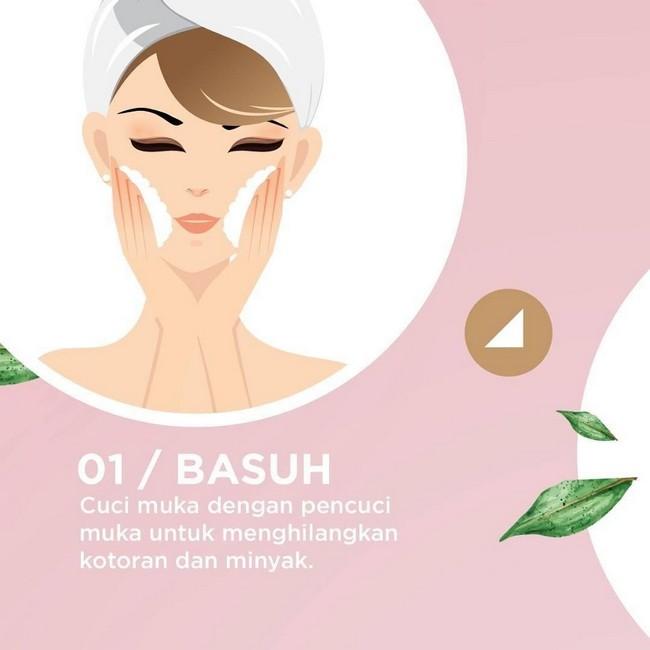 cara melicinkan kulit muka dengan cepat 16