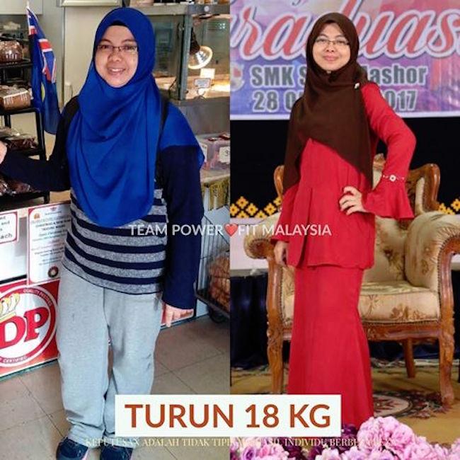 tips turunkan berat badan secara sihat