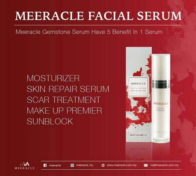 keistimewaan meeracle facial serum
