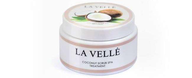 coconut scrub untuk hilangkan kedutan dan stretchmark