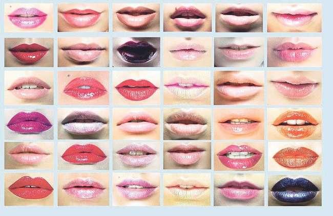 lip matte cream juga ada pelbagai tekstur berlainan