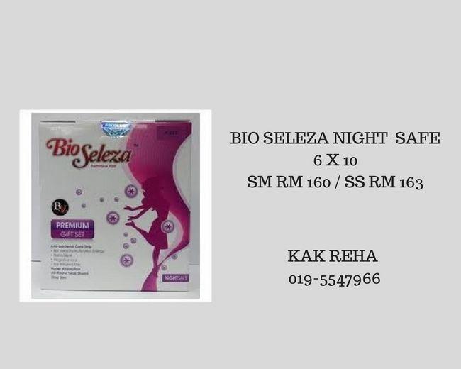 cara penjagaan diri dengan bio seleza night safe