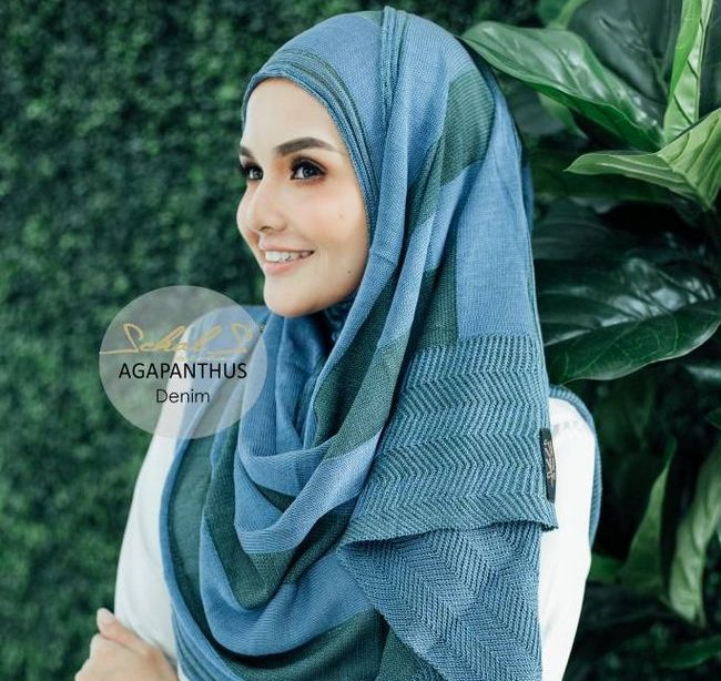 instant shawl denim