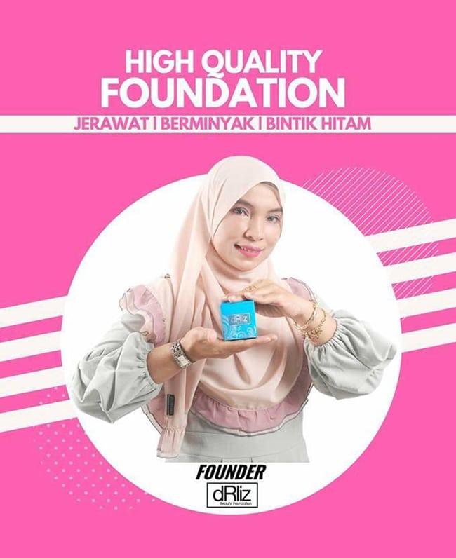 Tips Memakai Foundation Lembut